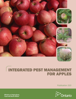 Cover of Publication 310 - Integrated Pest Management for Apples