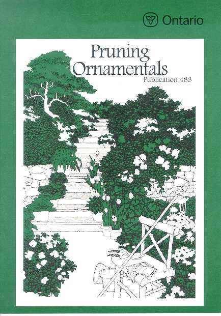 Front cover image of Publication 483, Pruning Ornamentals