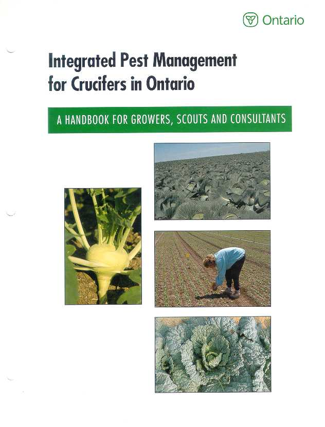 Front cover image of Publication 701, Integrated Pest Management for Crucifers