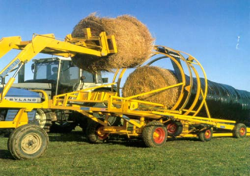 Multi-bale stretch wrap