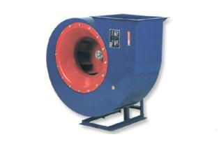Photo of a centrifugal fan.
