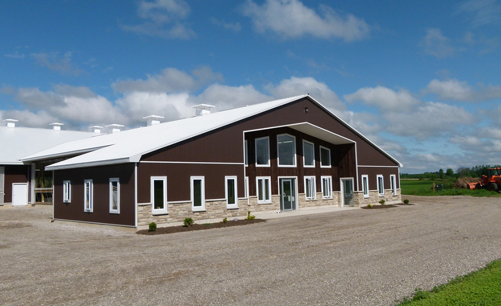 Dairy Housing Milking Centre Design And Construction For