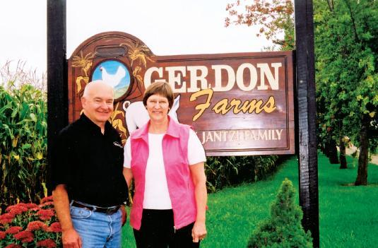 Gerald and Donna Jantzi are proud of their swine farrowing operation.