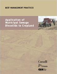 BMP Cover - Application of Municipal Sewage Biosolids to Cropland