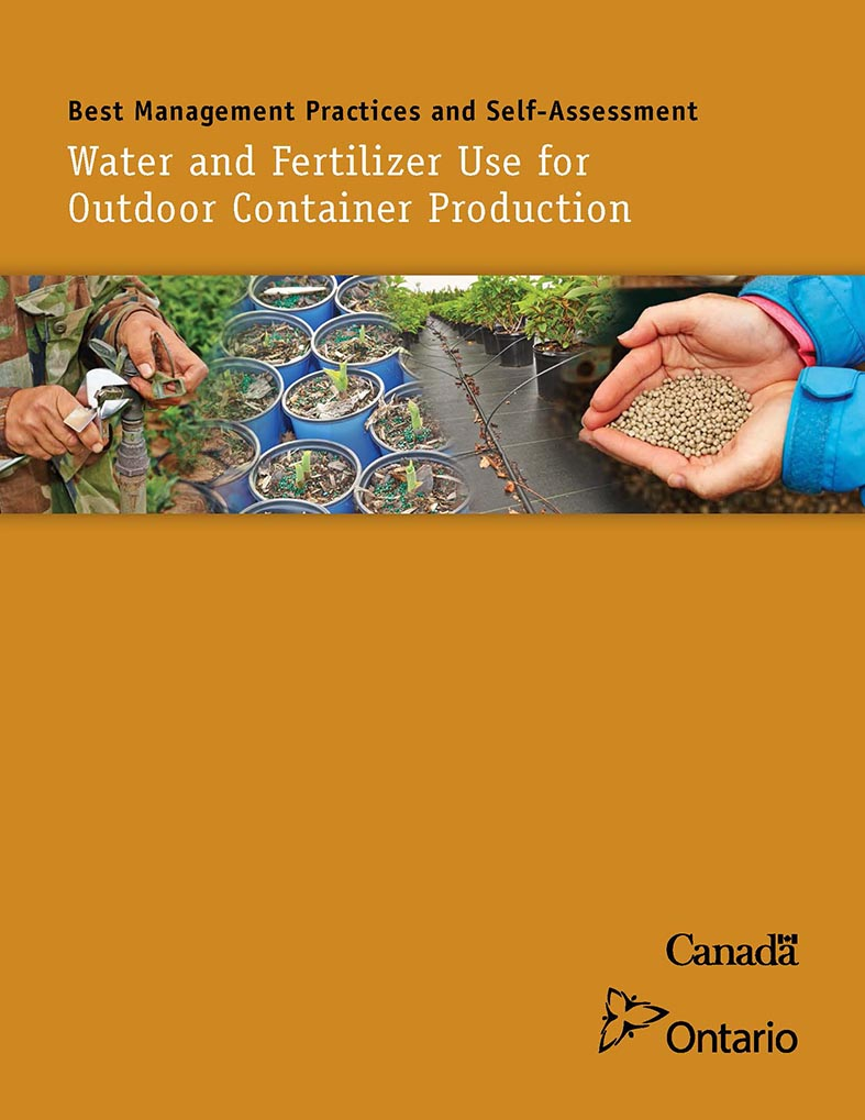 Best Management Practices and Self-Assessment - Water and Fertilizer Use For Outdoor Container Production