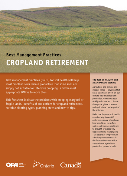 Image of Cropland Retirement Book