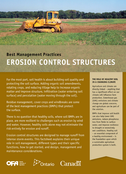 Erosion Control Structures
