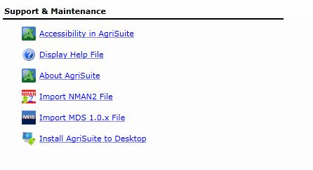 Help with Installing and Updating AgriSuite