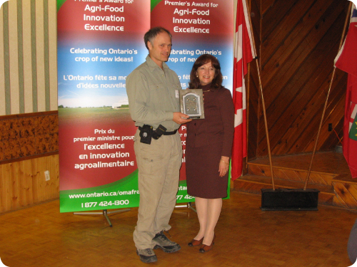 Brian Burt; Minister of Agriculture, Food and Rural Affairs, Leona Dombrowsky