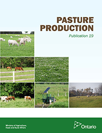 Front Cover Image for Pasture Production
