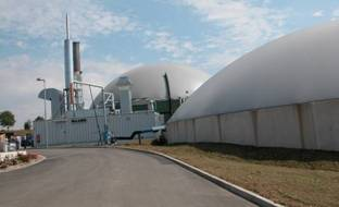 installation de production de biogaz